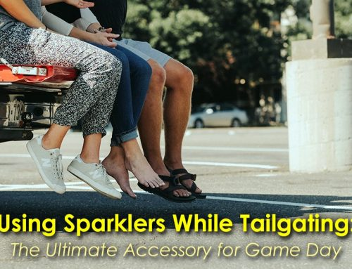 Using Sparklers While Tailgating