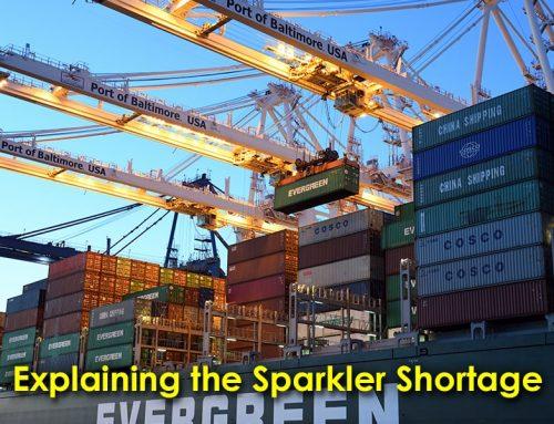 Explaining the Sparkler Shortage