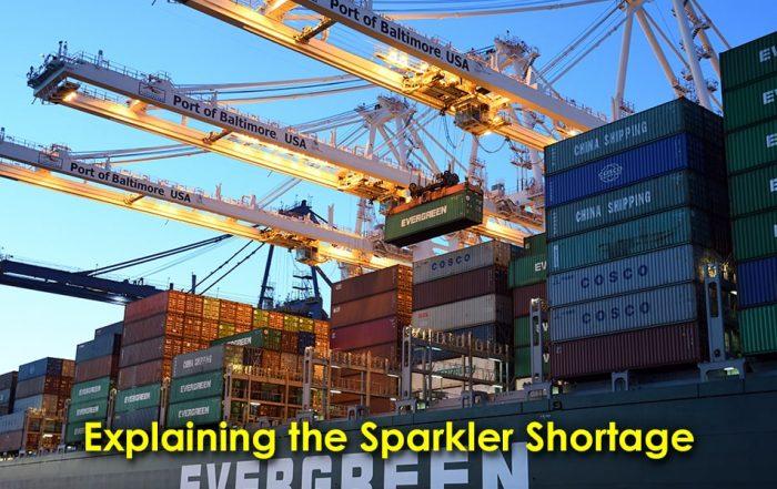 Image Explaining the Sparkler Shortage