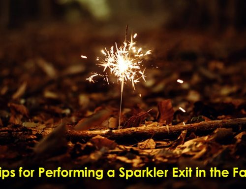 Tips for Performing a Sparkler Exit in the Fall