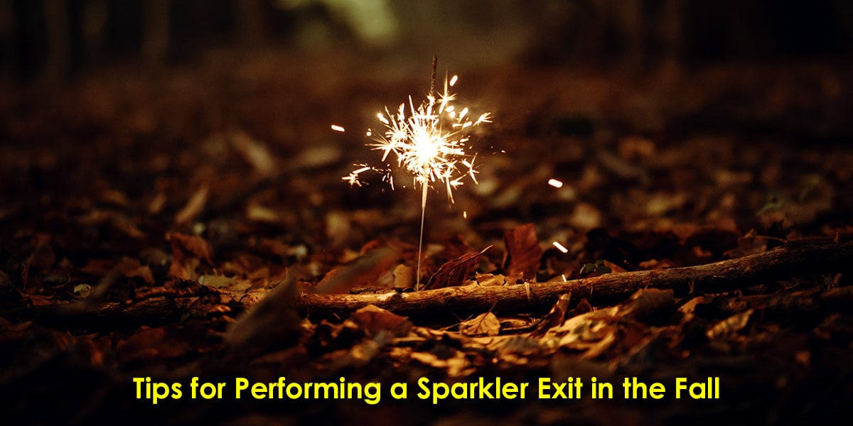 Image of Performing a Sparkler Exit in the Fall